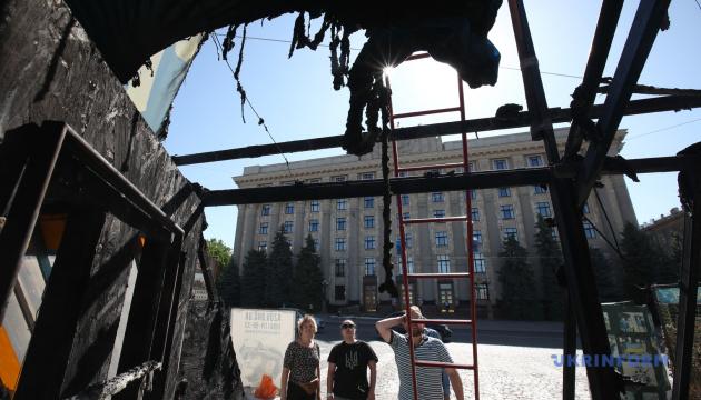 Суд оголосив вирок у справі про підпал волонтерського намету «Все для перемоги» у Харкові