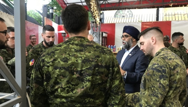 Canadian defense minister once again assures Ukraine of support