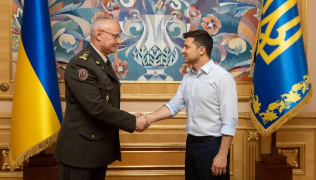 Volodymyr Zelensky a remplacé le chef du quartier général des Forces armées de l'Ukraine