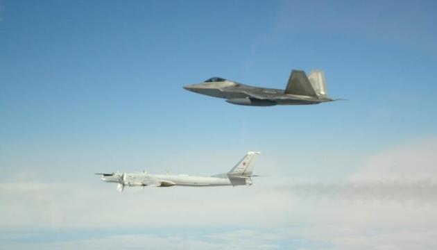 Истребители США перехватили российские бомбардировщики возле Аляски