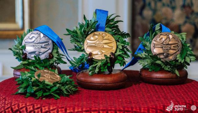 У Білорусі презентували медалі II Європейських ігор