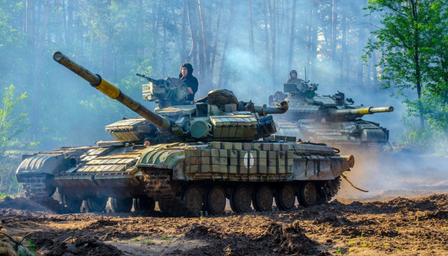 Russian-led forces launched 16 attacks on Ukrainian troops in Donbas in last day