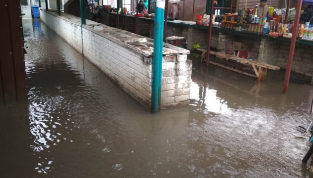 На Львівщині ліквідують наслідки потужних злив