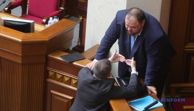 Зеленський підтримує вибори за відкритими списками - Стефанчук