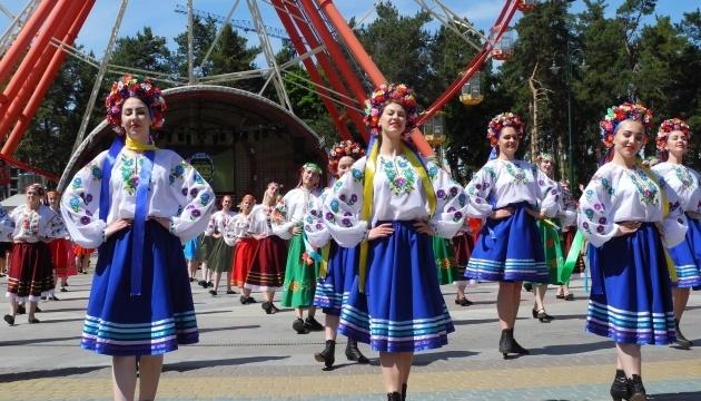 ハルキウ市で400名以上がコサックダンス 記録更新