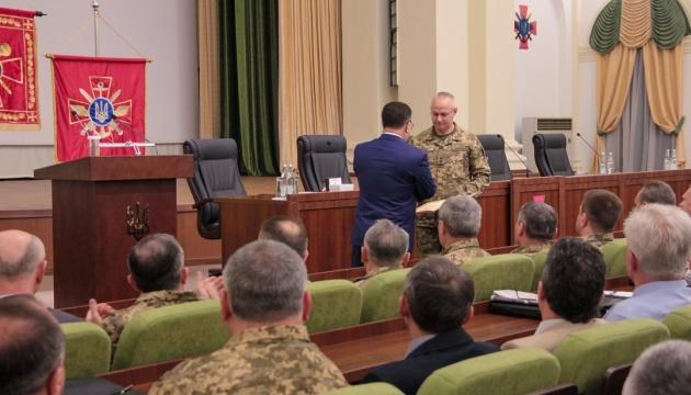 Полторак представив військовим нового главу Генштабу