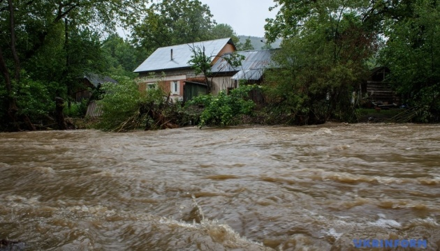 Nineteen houses remain flooded in Ivano-Frankivsk region