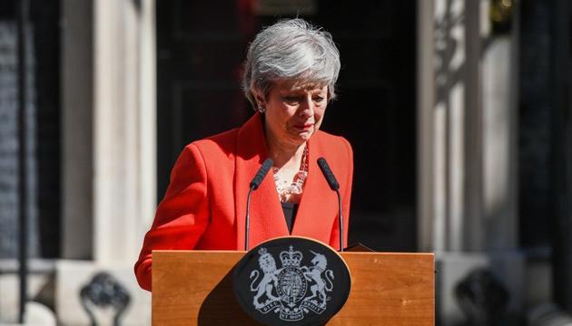 Мэй покидает пост лидера британских консерваторов