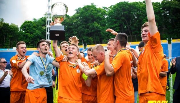 Сборная НУФВСУ-МАУП выиграла футбольный чемпионат Киева среди студентов