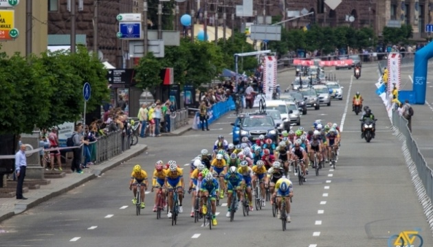 Серия шоссейных велогонок пройдет в центре столицы в День Киева