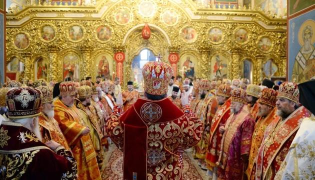 Філарет прийшов на спільну молитву до Епіфанія