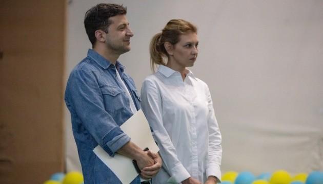 Зеленський із дружиною взяв участь у відкритті літнього табору асоціації проти наркотиків