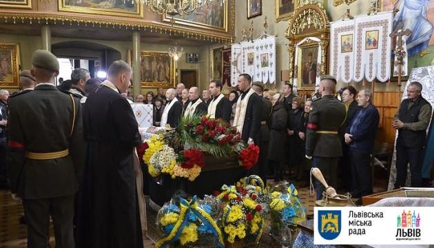 У Львові попрощалися із загиблим на Донбасі військовим