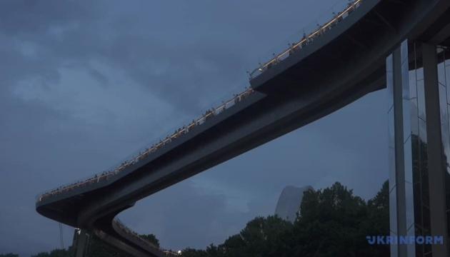 Кличко: Вандалізм на скляному мосту - кримінал, який отримає жорстку відповідь