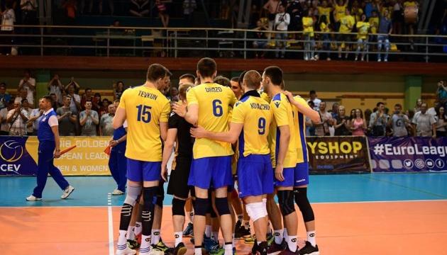 Чоловіча збірна перемогла в першому матчі Золотої Євроліги