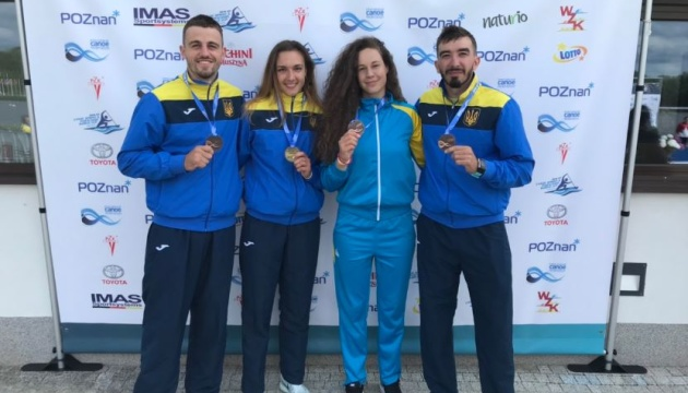 Українські веслувальники виграли три медалі на етапі Кубка світу