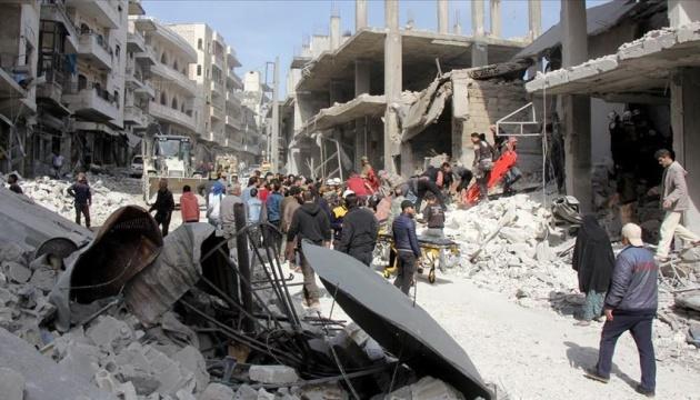Армия Асада применила фосфорные бомбы в сирийском Идлибе