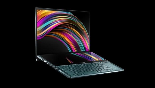Asus випустила ноутбук із двома екранами