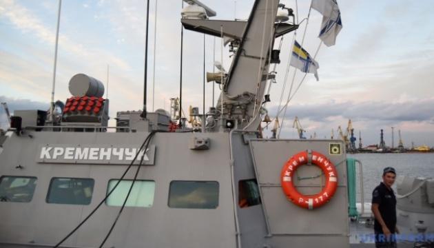 В Азовському морі пройшли навчання малих броньованих катерів