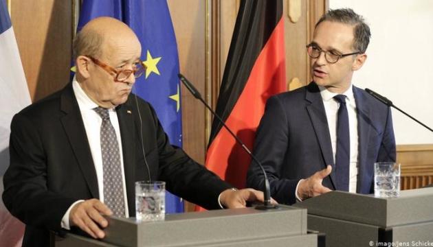 Україну в четвер відвідають глави МЗС Німеччини і Франції