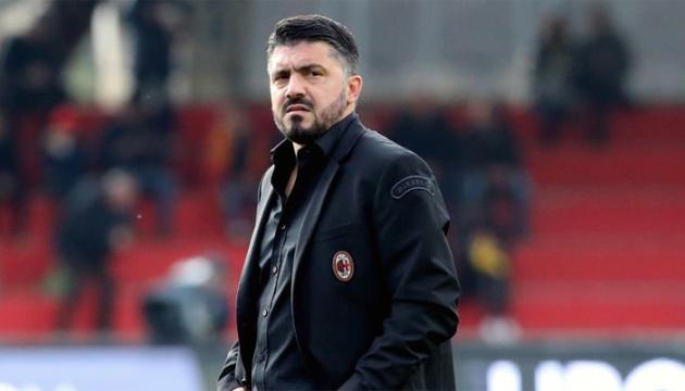 """Наставник """"Мілана"""" Гаттузо офіційно залишив команду"""