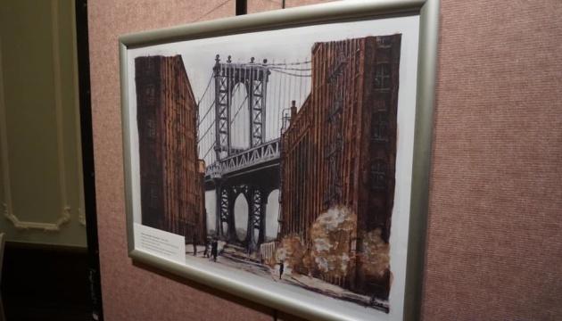 Une exposition de dessins de Roman Souchtchenko s'ouvre à New-York (photos, vidéo)