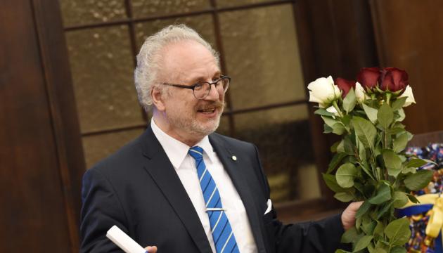 Zelensky congratulates Egils Levits on winning Latvia's presidential election