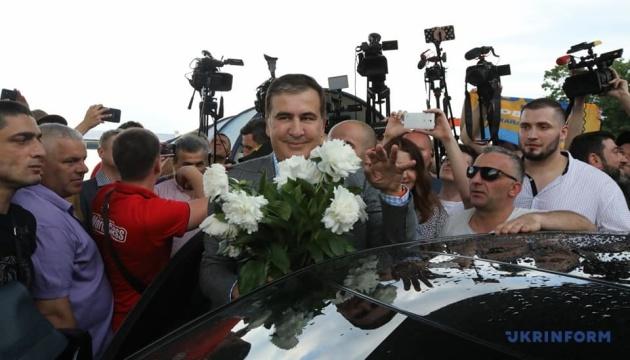 Саакашвілі назвав кандидатів до Ради від своєї партії