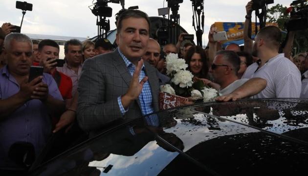 Saakashvili says he returned to Ukraine not for revenge