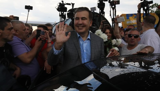 Saakashvili ha regresado a Ucrania (Vídeo)