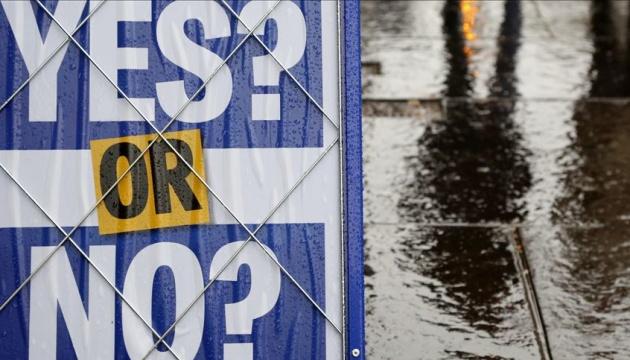 Правительство Британии не поддержит референдум о независимости Шотландии