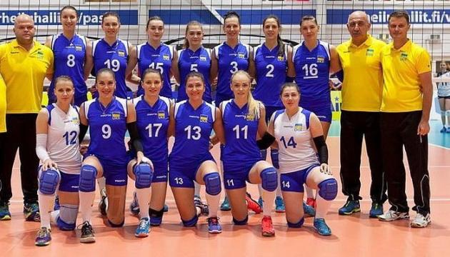 Жіноча збірна України з волейболу лідирує в групі Золотої Євроліги