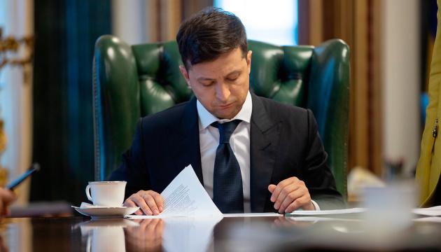 Zelensky tables in parliament motions to dismiss Klimkin, Poltorak, Hrytsak