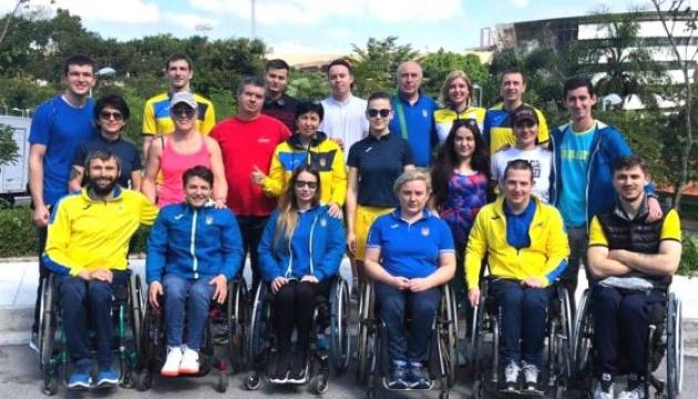 Украинские фехтовальщики на колясках завоевали 9 наград на этапе Кубка мира