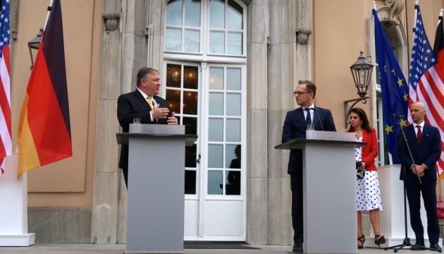 Маас і Помпео обговорять Україну в четвер у Лейпцигу