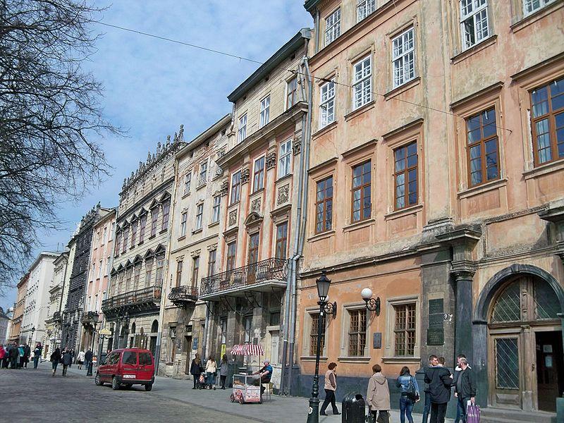 Львів Палац латинських архієпископів / Фото: commons.wikimedia