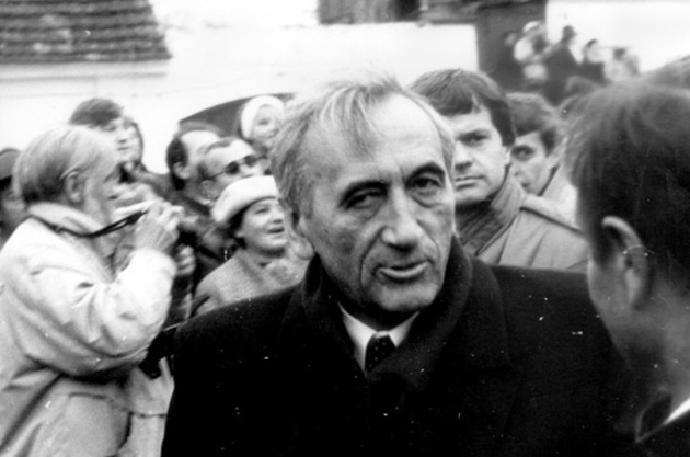 Тадеуш Мазовецький, листопад 1989 року / Фото: Artur Klose