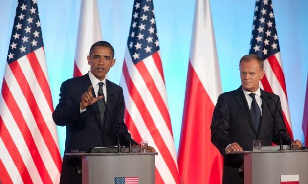 Барак Обама та Дональд Туск / Фото: Official White House Photo