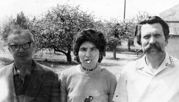 Іван Кандиба, Надія Світлична та Левко Лук'яненко, 1976 рік. Фото: radiosvoboda.org