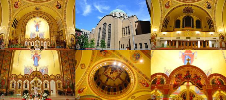Український храм Св-Юрія в Нью-Йорку