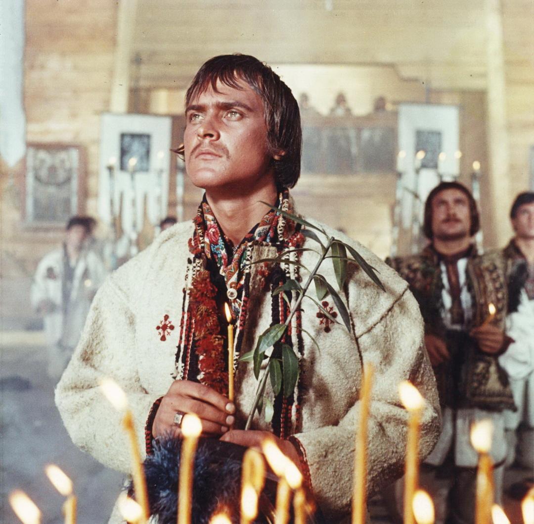 кадр із фільму Тіні забутих предків, 1964 р