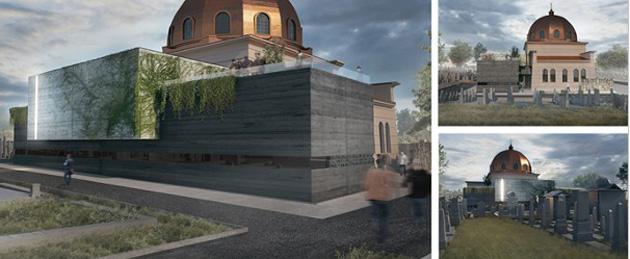 Так незабаром виглядатиме меморіальна будівля та музей