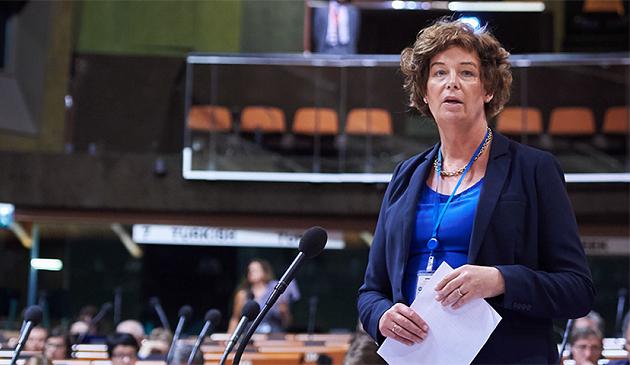 Петра де Суттер / Фото:  Council of Europe / Klara Beck