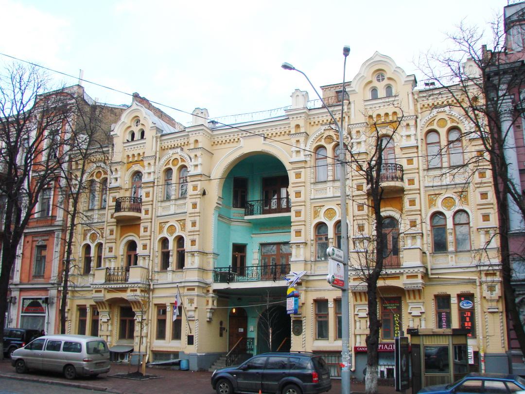 будинок, де народився Олександр Вертинський