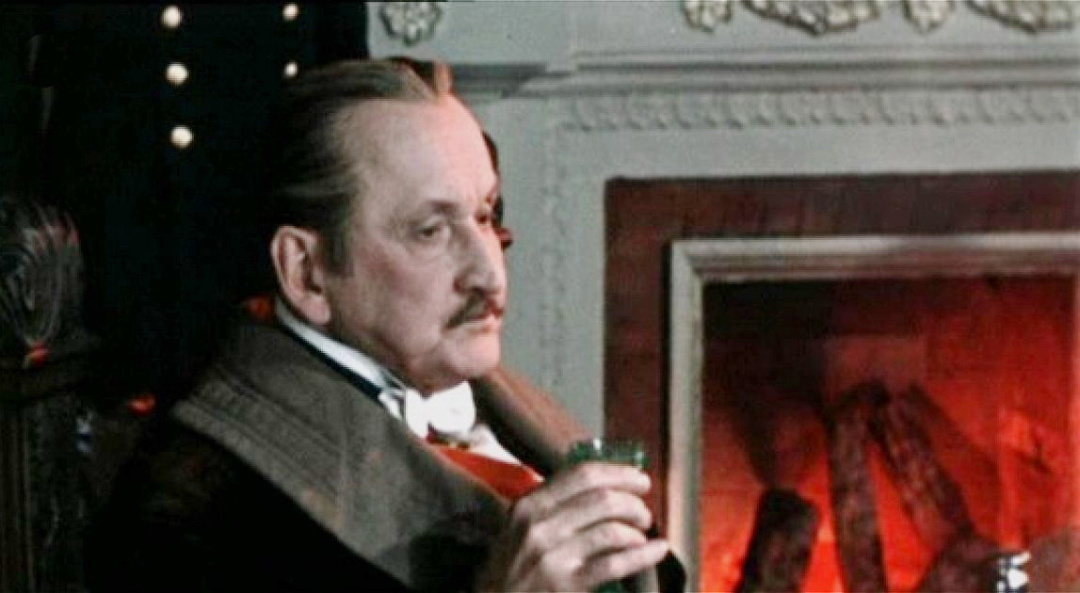 Олександр вертинський у фільмі Анна на шиї, 1954 р.