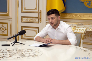 Zelensky reprimands two deputy heads of his office