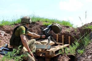 "На Донбассе оккупанты 24 раза нарушили ""тишину"", один боец погиб"