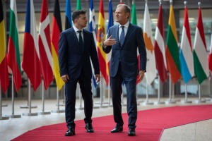 Zelensky, Tusk discuss Nord Stream 2 in phone call