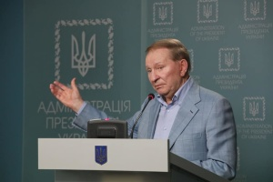 Kuchma, Cevik discuss ceasefire violations in Donbas