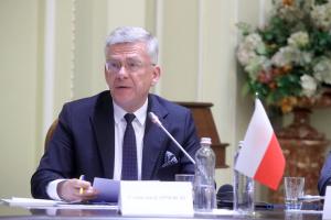 Polnischer Senatsmarschall kommt in die Ukraine